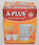 Электрический чайник А-Плюс 500 мл. EK-1530 /05-7, фото 4