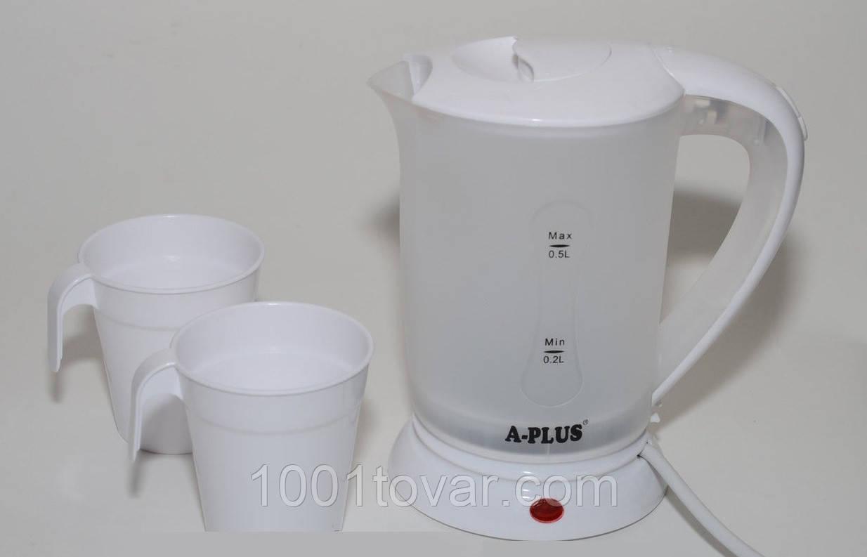 Электрический чайник А-Плюс 500 мл. EK-1530 /05-7