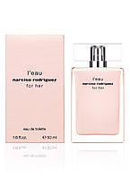 Narciso Rodriguez L`Eau For Her  edt 50  ml. w оригинал