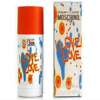Moschino Cheap And Chic I Love Love  deo 50  ml. w оригинал