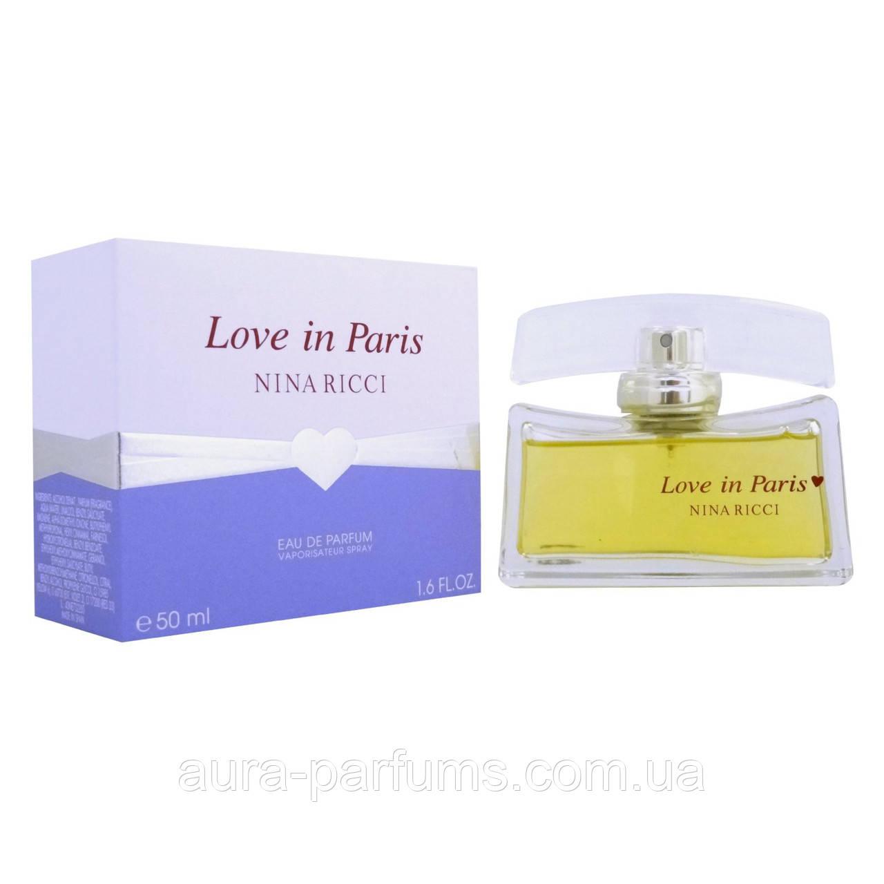 Nina Ricci Love in Paris  edp 50  ml. w оригинал