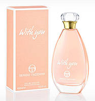 Sergio Tacchini With You  edt 100  ml. w оригинал