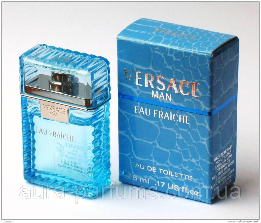 Versace Eau Fraiche Man Edt 5 Ml M оригинал Mini цена 198 грн