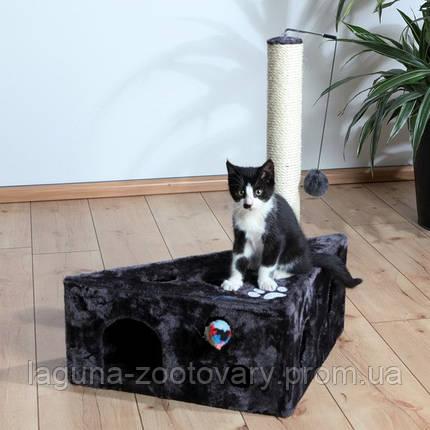 """*Домик с когтеточкой """"МУРСИЯ"""" для кошек и котят, 68см, серый, фото 2"""