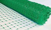 """Сетка пластиковая """"Забор"""" ячейка 85*95 мм, 1,0*20 м зеленая"""