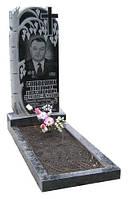Памятник берёзка одинарный гранитный