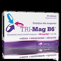 Магний, Витамин B6  TRI-Mag B6 (30 tab)