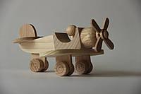 """Деревянная игрушка самолет """"Вираж"""""""