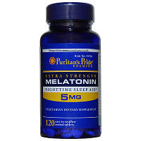 Мелатонин для сна Melatonin 5 mg (60 softgel)
