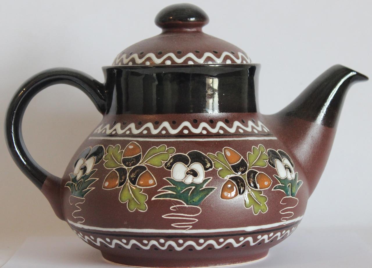 """Чайник керамический """"Жёлудь"""""""