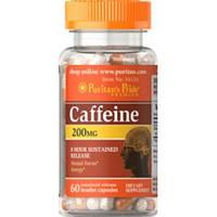 Puritan's Pride Кофеин Caffeine 200 mg (60 caps)