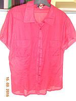 Рубашка красная батистовая с фонариками Solar