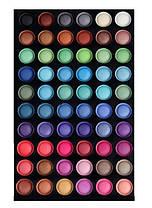 Палитра теней на 120 цветов профессиональная холодная Качество  , фото 2