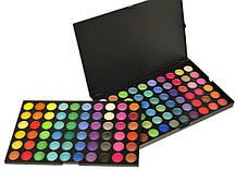 Палитра теней на 120 цветов профессиональная холодная Качество  , фото 3