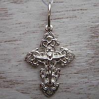 Детский серебряный крестик