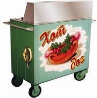 Прилавок пересувний для хот-догів КИЙ-В ПП-Е електричний (Україна)