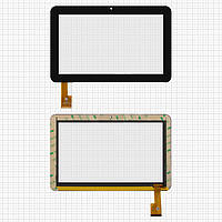 Touchscreen (сенсорный экран) для Sanei N91, 40 pin, оригинал (черный)