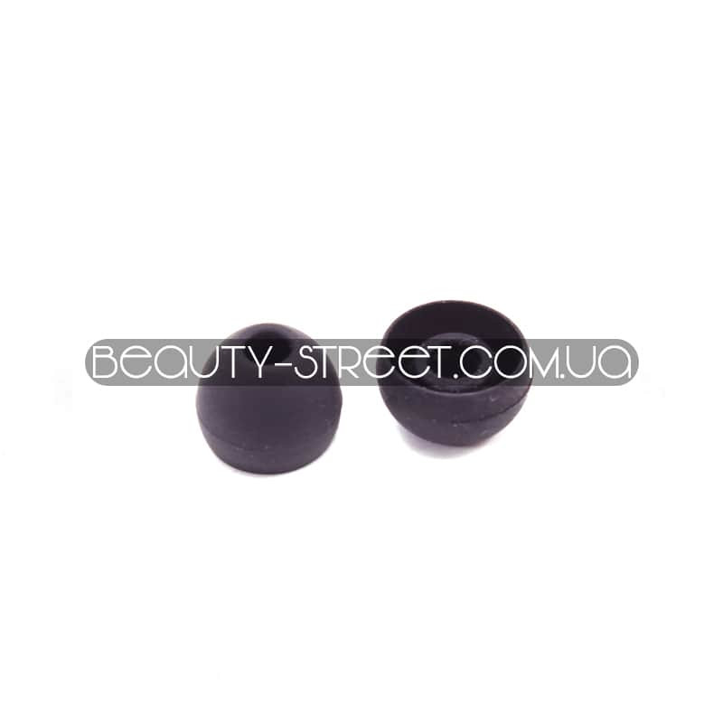 Накладки на вакуумные наушники Sony&Monster - черные