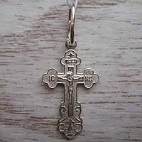Детский серебряный крестик, 1,1 грамма