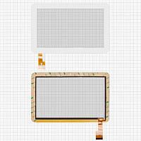 Touchscreen (сенсорный экран) для Sanei N91, 40 pin, оригинал (белый)