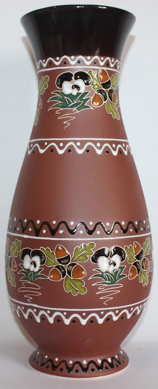 Ваза керамическая большая «Желуди»