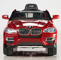 Электромобиль T-791 BMW X6 RED джип, детская машина