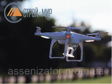 Скоро дроны смогут строить здания с воздуха