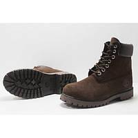 Ботинки Timberland коричневые