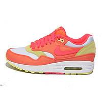 Женские спортивные кроссовки Nike Air Max 87 персиковые