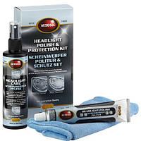 Для фар восстановление набор средств Autosol Headlight Polish & Protection Kit
