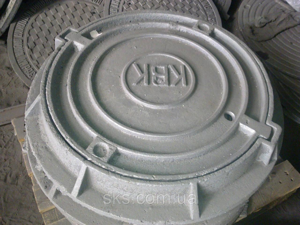 Люк канализационного колодца серии Л, комплект