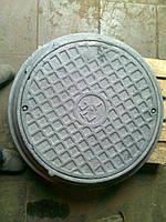 Люк смотрового колодца связи  ГТС  Т