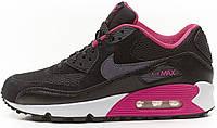 Женские кроссовки Nike Air Max 90 Black (найк аир макс 90) черные