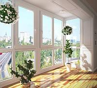 Металлопластиковые окна Rehau Euro 60
