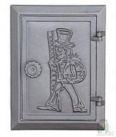 Дверка чугунная DKR 4