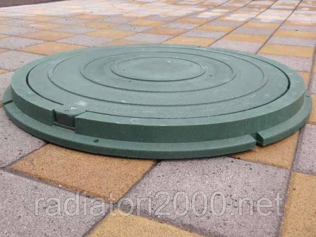 Люк полимерный 1,8 т зеленый