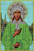 Схема для вышивания бисером икона Св. Блаженная Ксения Петербургская КМИ 5130