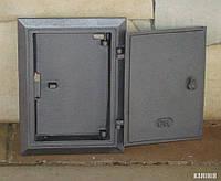 Дверка чугунная DKR 4 с вкладышем