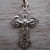 Детский серебряный крестик, 1 грамм, фото 2