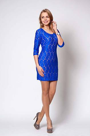 Нарядное кружевное платье, фото 2