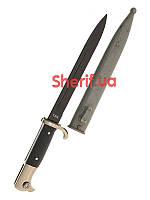Нож MIL-TEC WH Ausgehseitengewehr Vernickelt Black