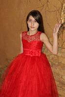 """Шикарное гипюровое платье """"Адриана"""" прокат Киев, фото 1"""