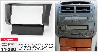 Рамка перехідна Carav 11-326 Lexus LS-430/Toyota Celsior 01-06 (without navigation/Black) 2DIN