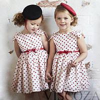 Детское платье Штапельное с поясом