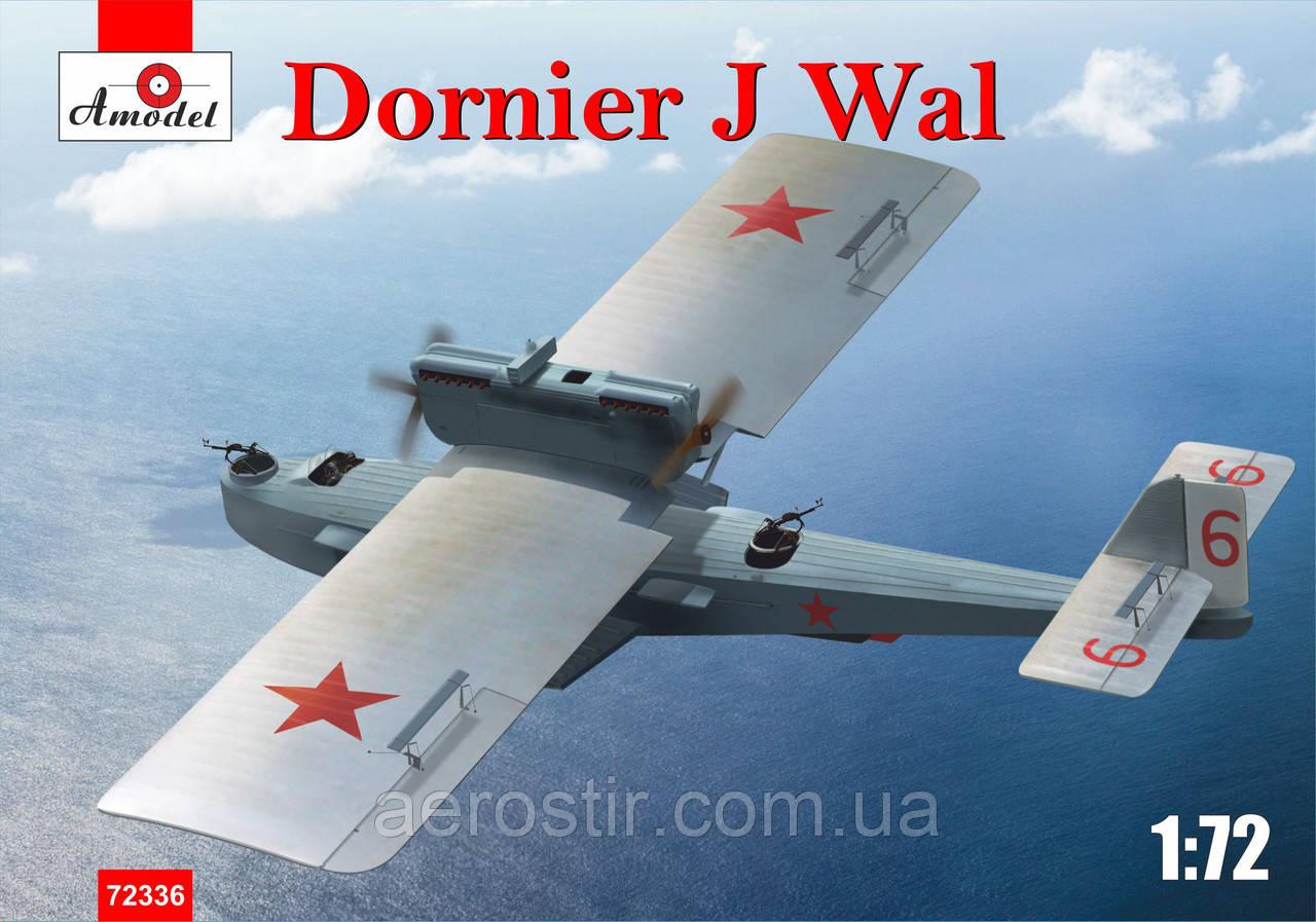 Самолет' Dornier J  Wal '   1\72   Amodell 72336
