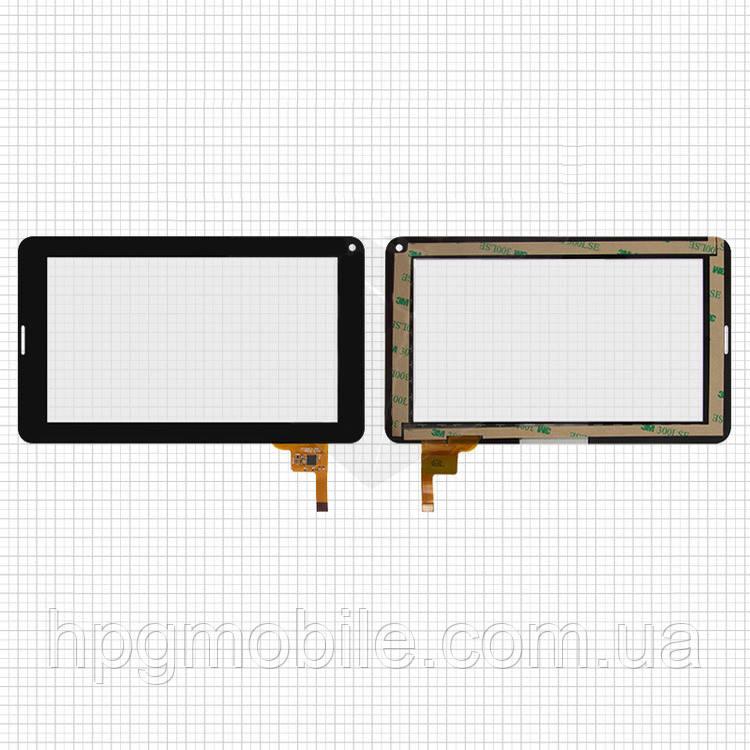 Сенсорный экран для Digma iDj7n 3G, 12 pin, черный, оригинал