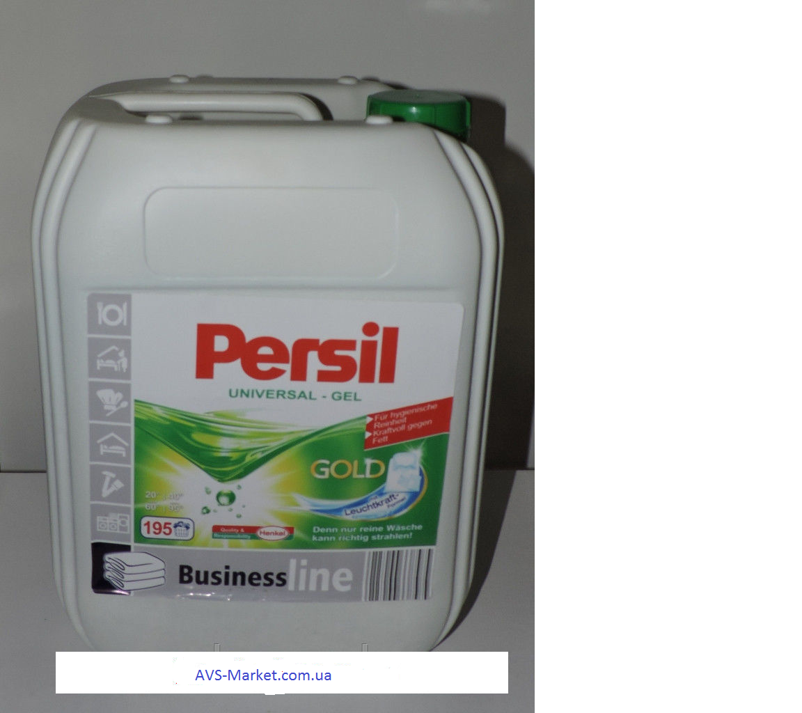 "Гель для стирки Persil Power Gel Business Line 10 L - интернет-магазин ''AVS"" в Киеве"