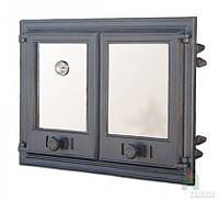 Дверка чугунная DCHР 4 с термометром