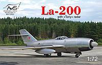 Самолет ' ЛА-200'  1\72   Avis 72022