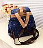 Женский рюкзак в цветочек , фото 4